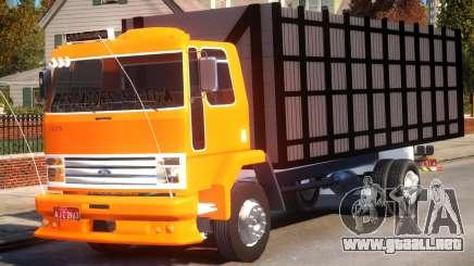 Ford Cargo 1415 Boiadeiro para GTA 4