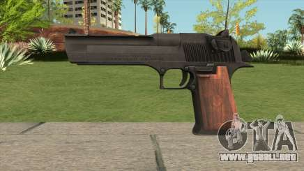 Desert Eagle Black para GTA San Andreas