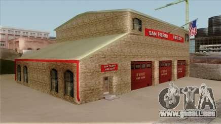 New Fire House in SF para GTA San Andreas