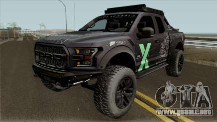 Ford F-150 Raptor Project Scorpio 2017 Paint para GTA San Andreas