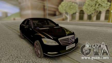 Mercedes-Benz W221 Stock para GTA San Andreas