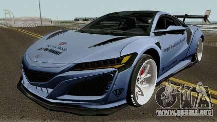 Honda NSX Liberty Walk 2017 para GTA San Andreas