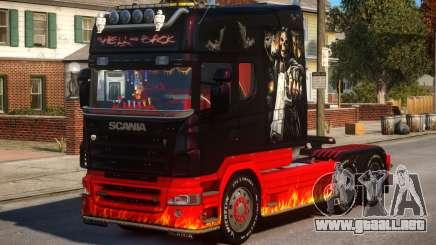 Scania R580 Longline Custom PJ18 para GTA 4