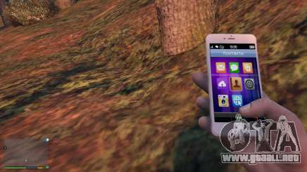 iPhone 6 Gold Michael para GTA 5