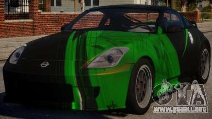 Nissan 350Z Underground PJ4 para GTA 4