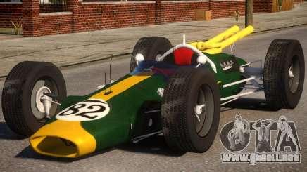 Lotus 38 PJ para GTA 4