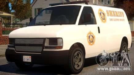 Los Santos Police Speedo Transporter [ELS] para GTA 4