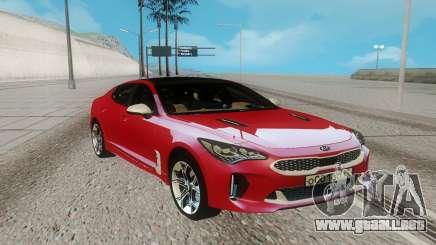 Kia Stinger para GTA San Andreas