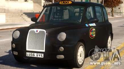 London Taxi Cab para GTA 4