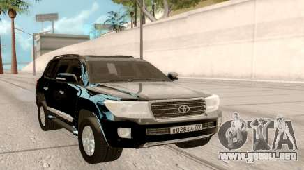 Toyota Land Cruiser 200 DARK para GTA San Andreas