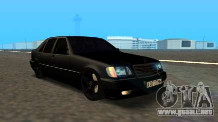 Mercedes-Benz S600 From Brigada para GTA San Andreas