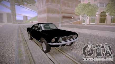 Ford Mustang GT Fastback 390 1968 para GTA San Andreas