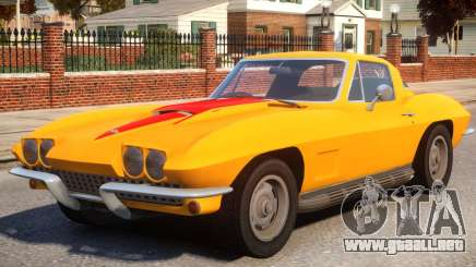 1967 Chevrolet Corvette Stingray 427 para GTA 4