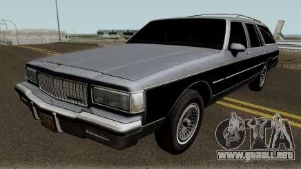 Chevrolet Caprice Hearse 1989 para GTA San Andreas