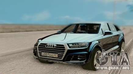 Audi Q7 3.0 TDI Quattro 2016 para GTA San Andreas