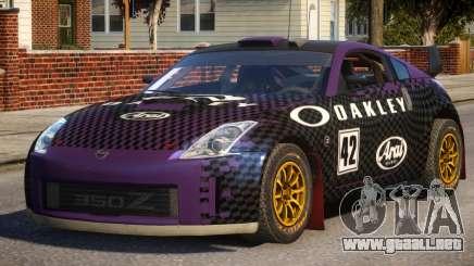Nissan 350Z P1 para GTA 4