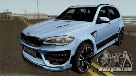 BMW X5M Regendage para GTA San Andreas
