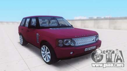 Land Rover Range Rover Vogue Supercharged 2007 para GTA San Andreas