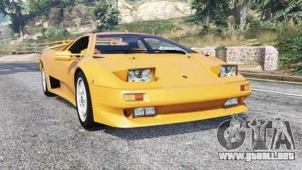 Lamborghini Diablo VT 1994 v1.5 [replace] para GTA 5
