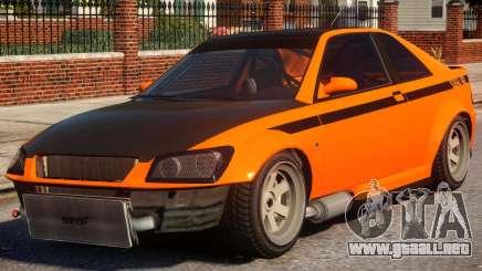 Sultan RS to Subaru Impreza STI para GTA 4
