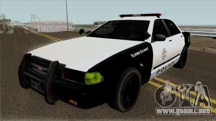 LVPD Vapid Stanier GTA V para GTA San Andreas