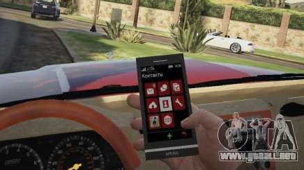Sony XPERIA Z1 Trevor para GTA 5