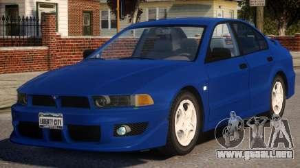 1998 Mitsubishi Galant para GTA 4