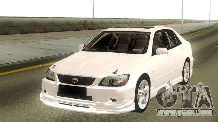 Toyota Altezza Stock para GTA San Andreas