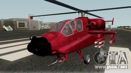 FH-1 Hunter para GTA San Andreas