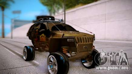 Jeep Grand Cheroke Off Road LPcars para GTA San Andreas