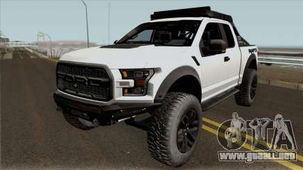 Ford F-150 Raptor Project Scorpio 2017 No Paint para GTA San Andreas