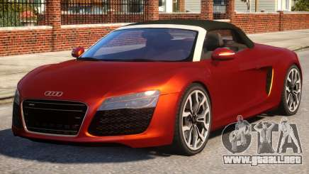 Audi R8 Spyder EPM V.1 para GTA 4