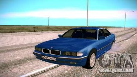 BMW M5 E38 para GTA San Andreas