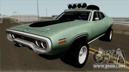Plymouth GTX Rusty Rebel 1972 para GTA San Andreas