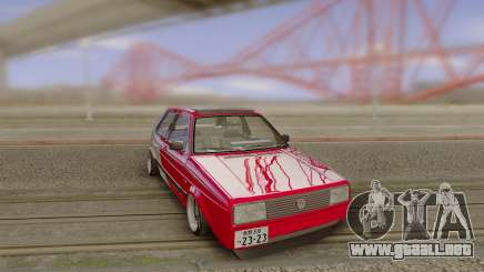 Volkswagen GOLF MK2 Japan para GTA San Andreas