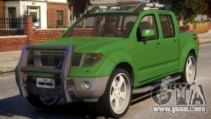 Nissan Frontier DUB para GTA 4