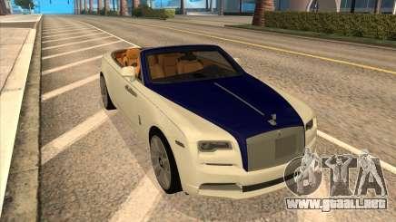 Rolls-Royce Dawn para GTA San Andreas