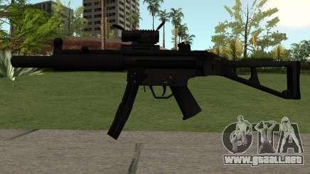 MP5-A1 para GTA San Andreas