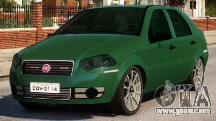 2011 Fiat Siena Sport para GTA 4