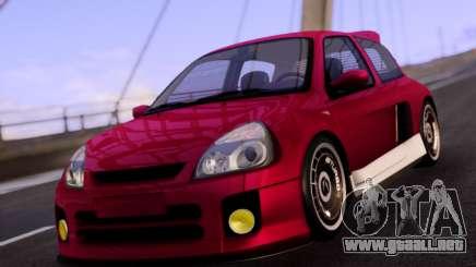 Renault Clio V6 Sport para GTA San Andreas