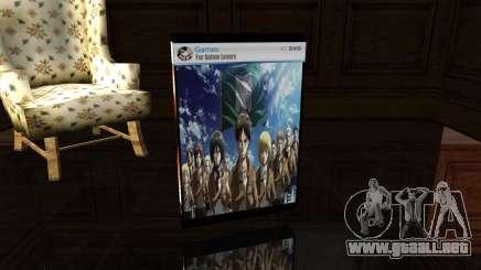 Save Box Shingeki No Kyojin para GTA San Andreas