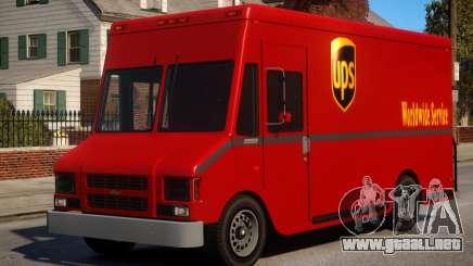 Boxville UPS Mod para GTA 4