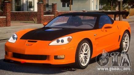 Chevrolet ZR1 v1 para GTA 4