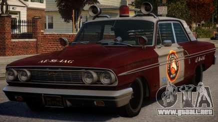 Ford Fairlane 1964 Fire para GTA 4