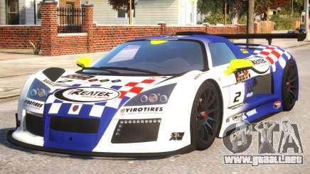 2011 Gumpert Apollo S N2 para GTA 4