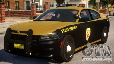 Maryland 2015 Dodge Charger para GTA 4