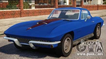 1967 Chevrolet Corvette Stingray V1.2 para GTA 4
