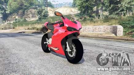Ducati 1299 Panigale S 2015 v1.2 [replace] para GTA 5