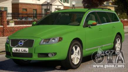 Volvo V70 Civilian Version para GTA 4