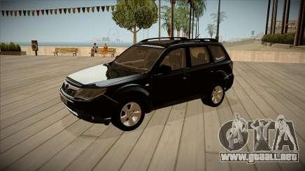 Subaru Forester 2012 para GTA San Andreas